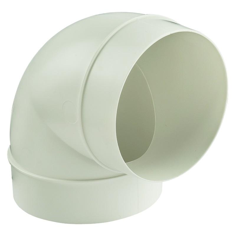 Колено круглое Вентс D100 мм