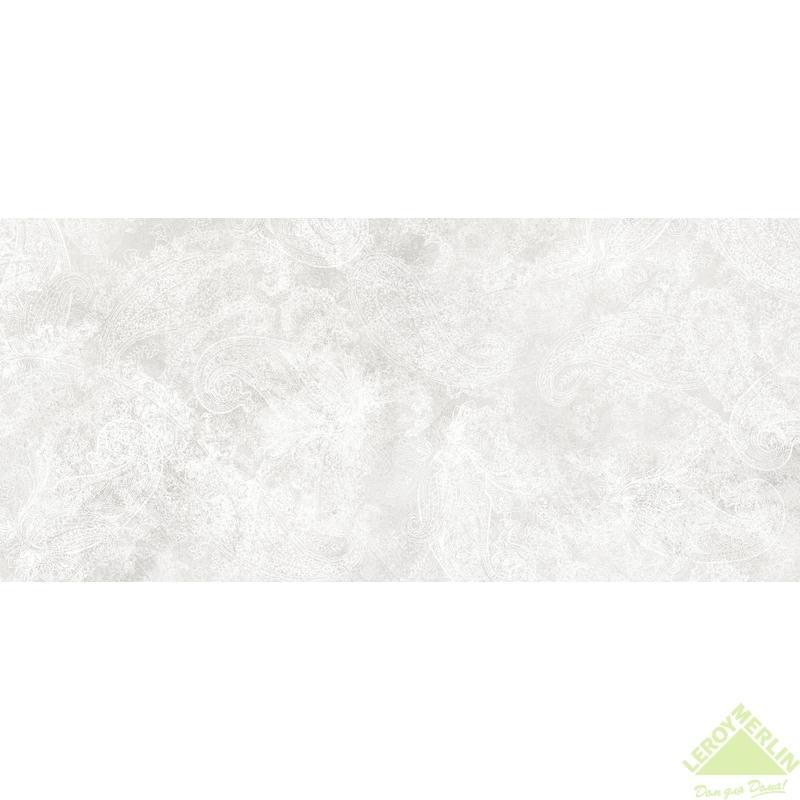 Плитка настенная Bloom, цвет белый, 20x44 см, 1,05 м2
