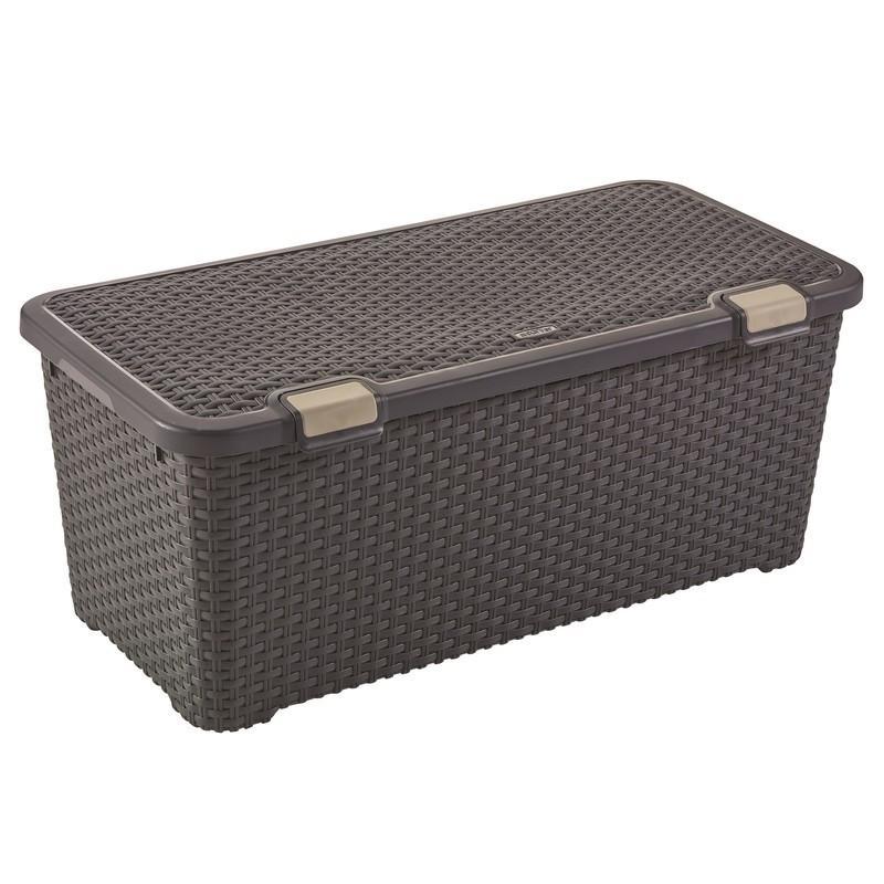 Ящик Curver Style 72 темно-серый