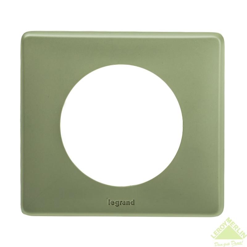 Рамка для розеток и выключателей Celiane, 1 пост, цвет сафари
