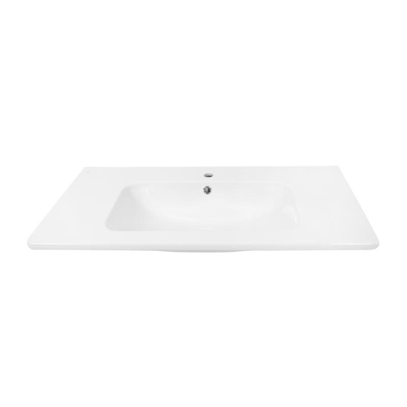 Раковина «Эйфория», 100 см, эмалированная керамика, цвет белый