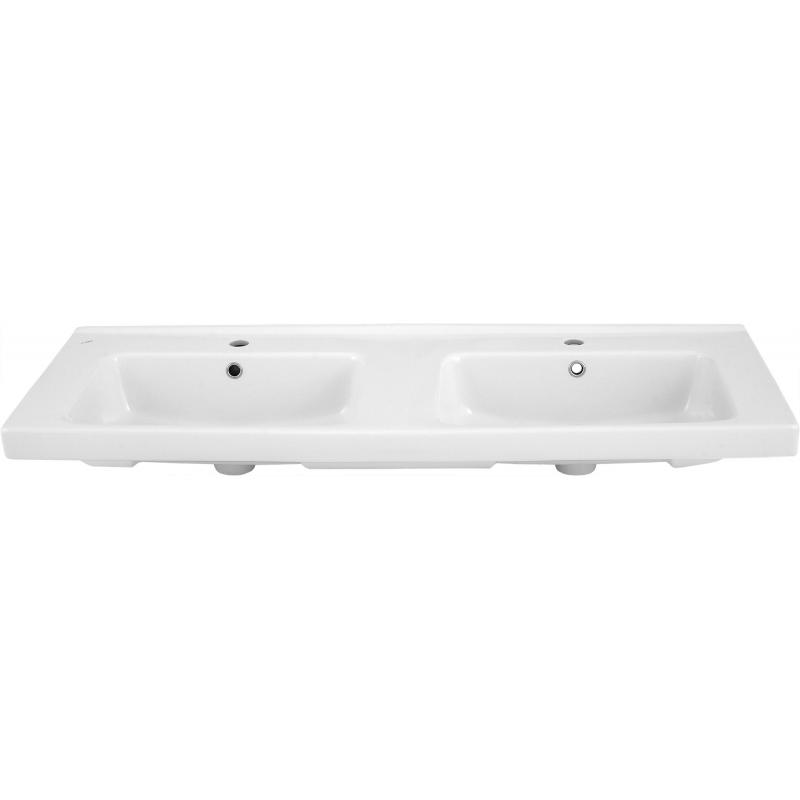 Раковина «Гармония», 125 см, эмалированная керамика, цвет белый