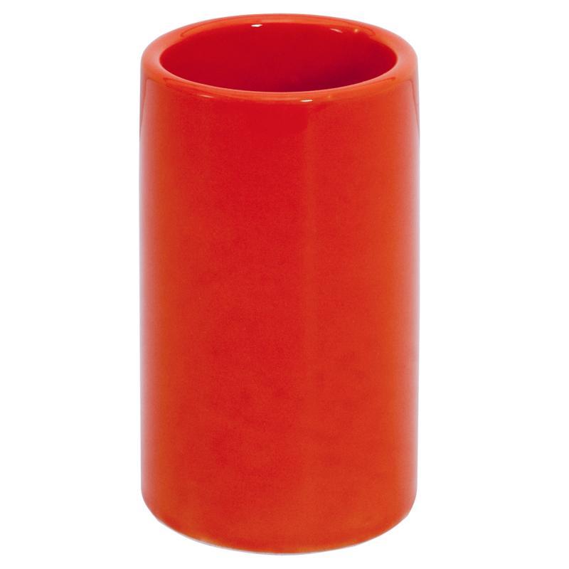 Стакан для зубных щёток настольный «Legend» керамика цвет оранжевый