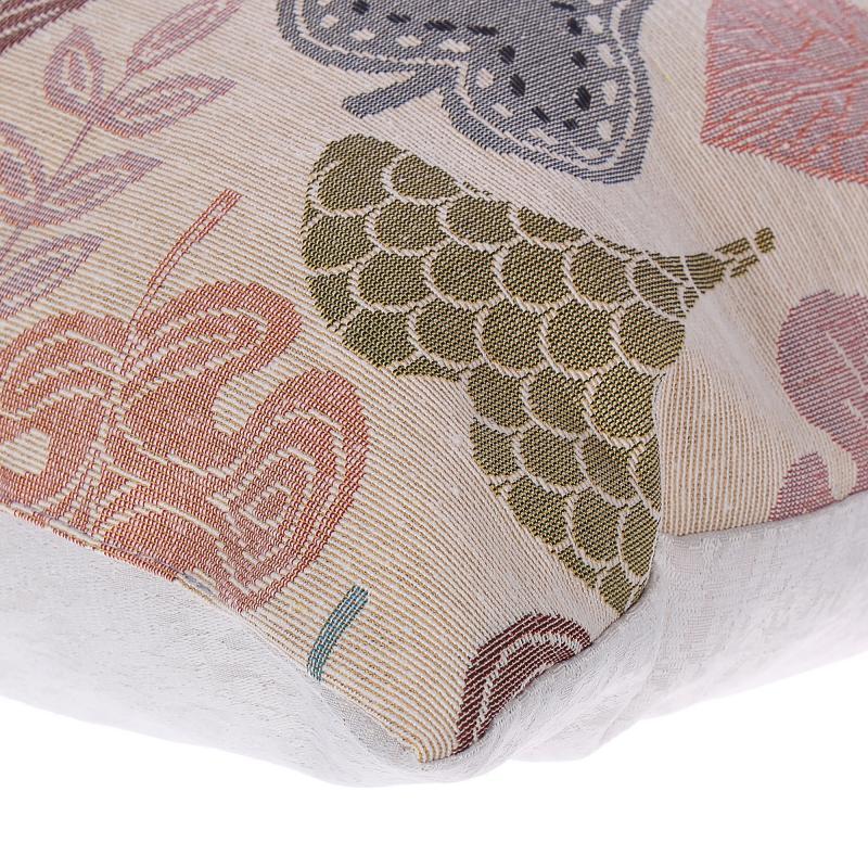 Подушка декоративная «Листья», 38х38 см, гобелен