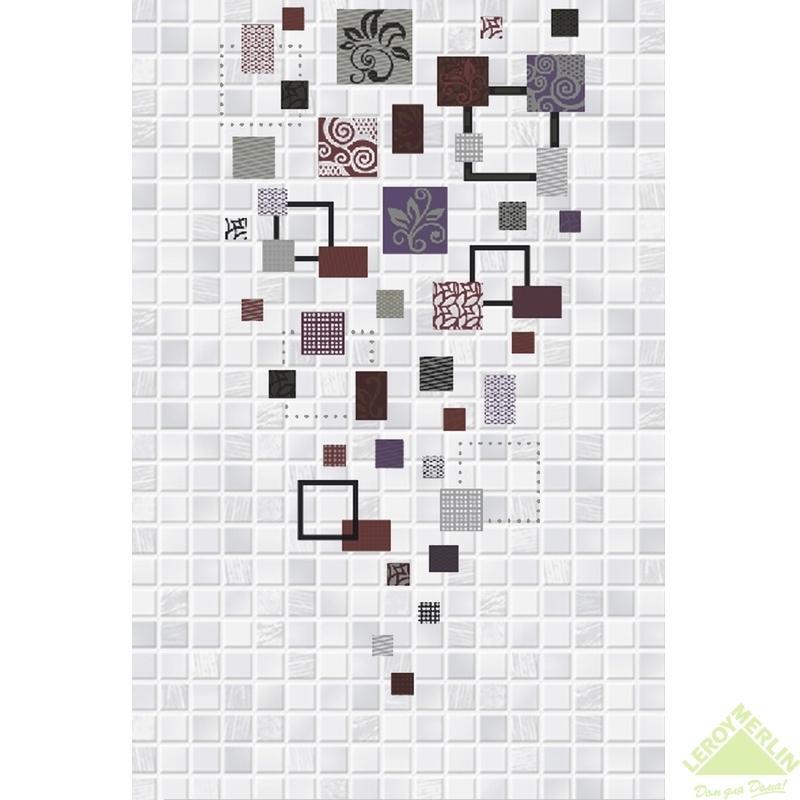 Декор Домино Матрица 1Д2, 20x30 см