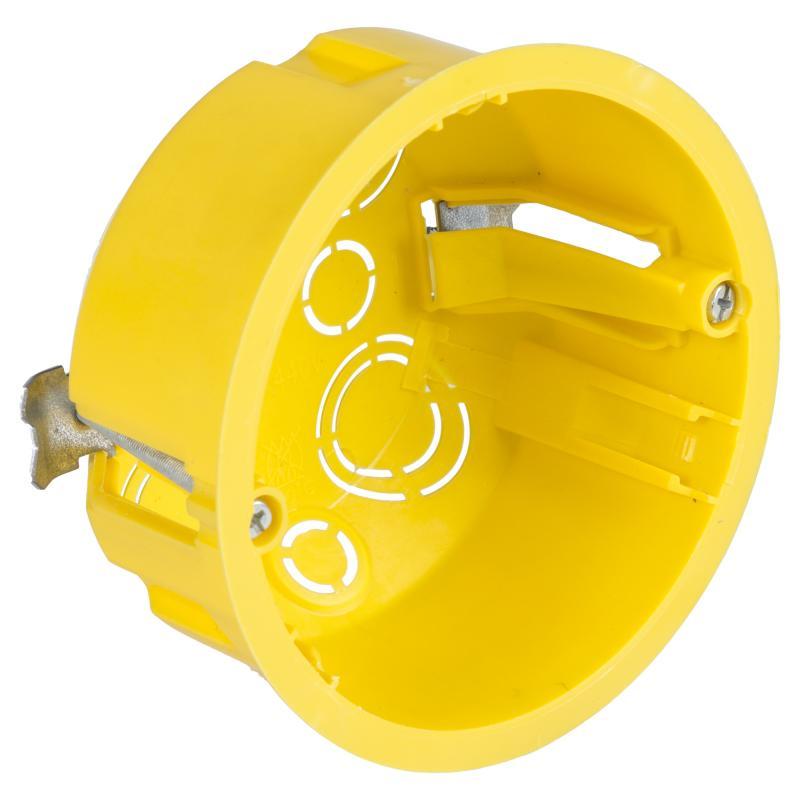 Коробка распределительная круглая Schneider Electric 80x45 мм цвет жёлтый