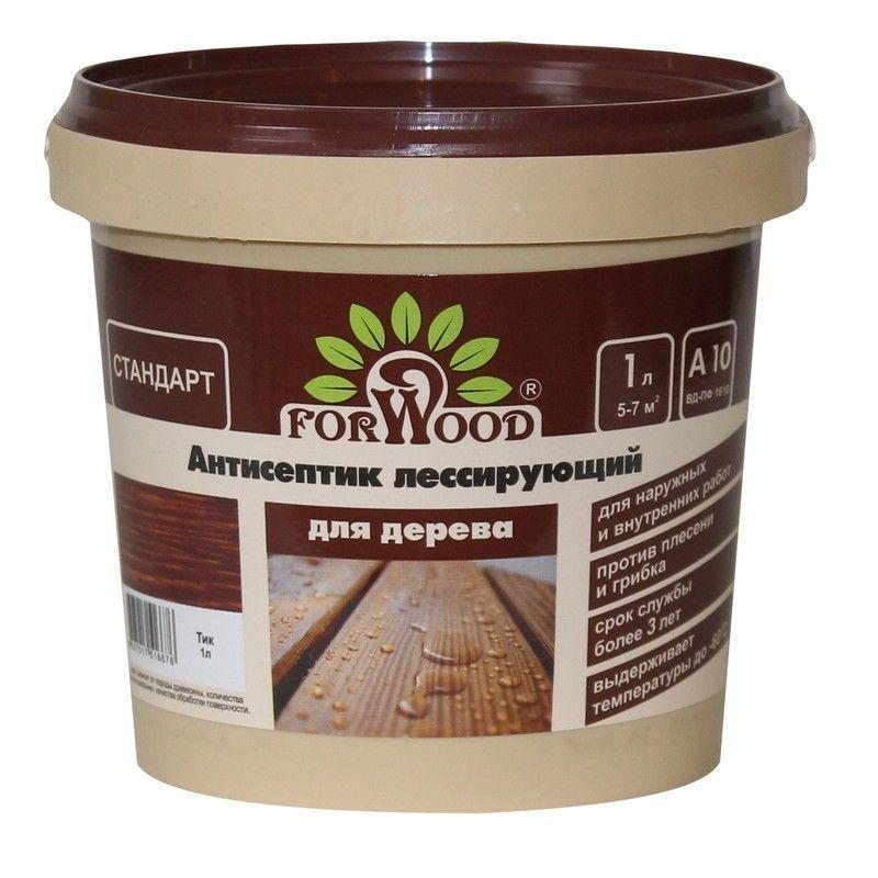 Антисептик Forwood цвет тик 1 л