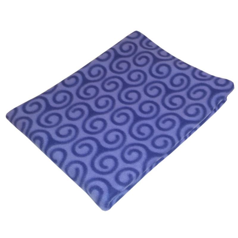 Плед «Peter» 130х170 см флис цвет фиолетовый