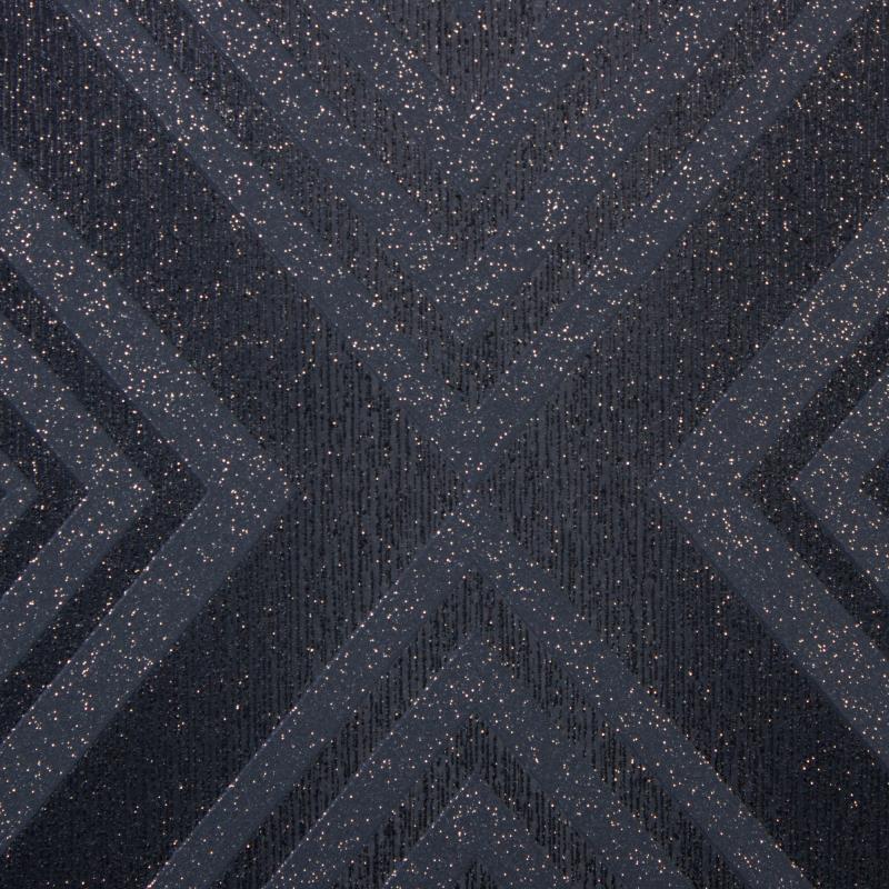 Обои на бумажной основе Ромбы 0.53х10 м цвет чёрный GdA 15804