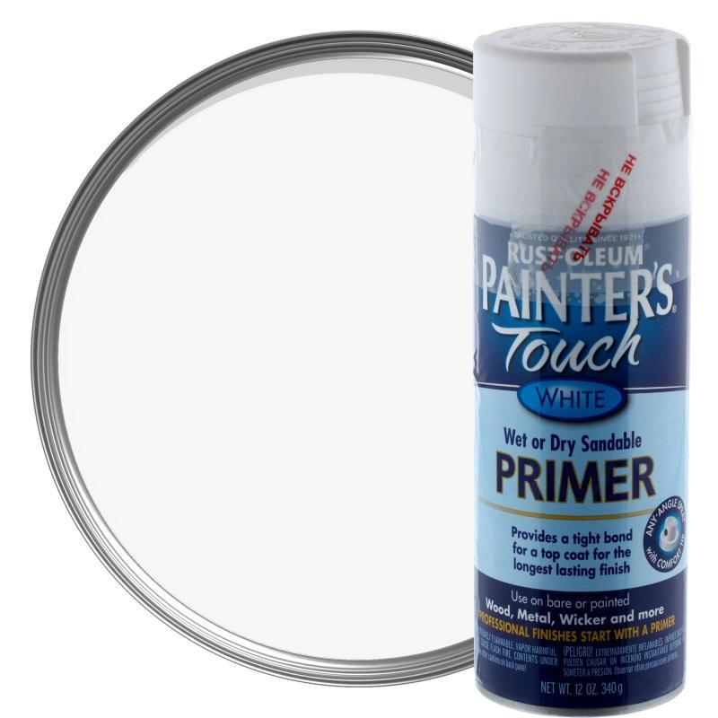 Грунт аэрозольный Paint Touch матовый цвет белый 340 г