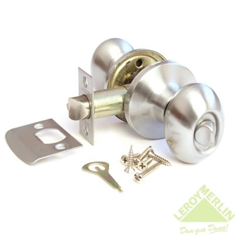 Ручка-защёлка круглая Apecs 6093-03-S (сатин)