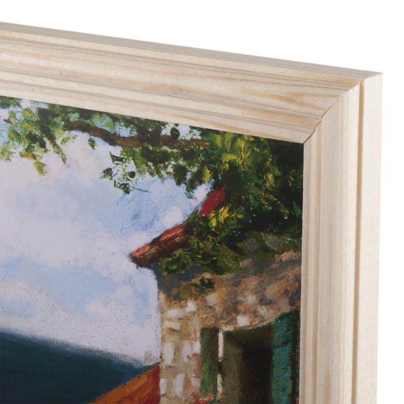 Постер в раме 20х25 см «Средиземноморский пейзаж»