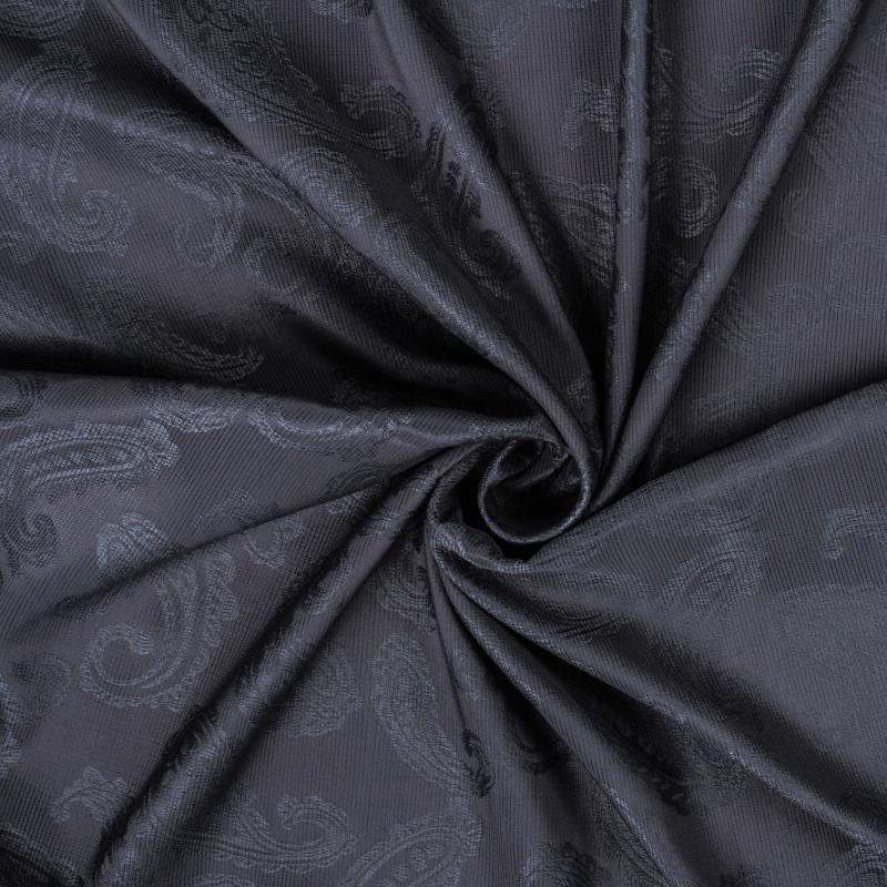 Ткань 1 п/м «Софи», жаккард, 280 см, цвет тёмно-сепрый