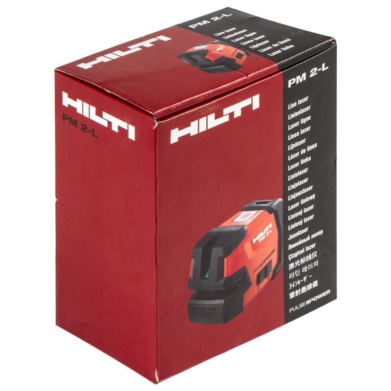 Уровень лазерный Hilti PM2-L, дальность до 10 м