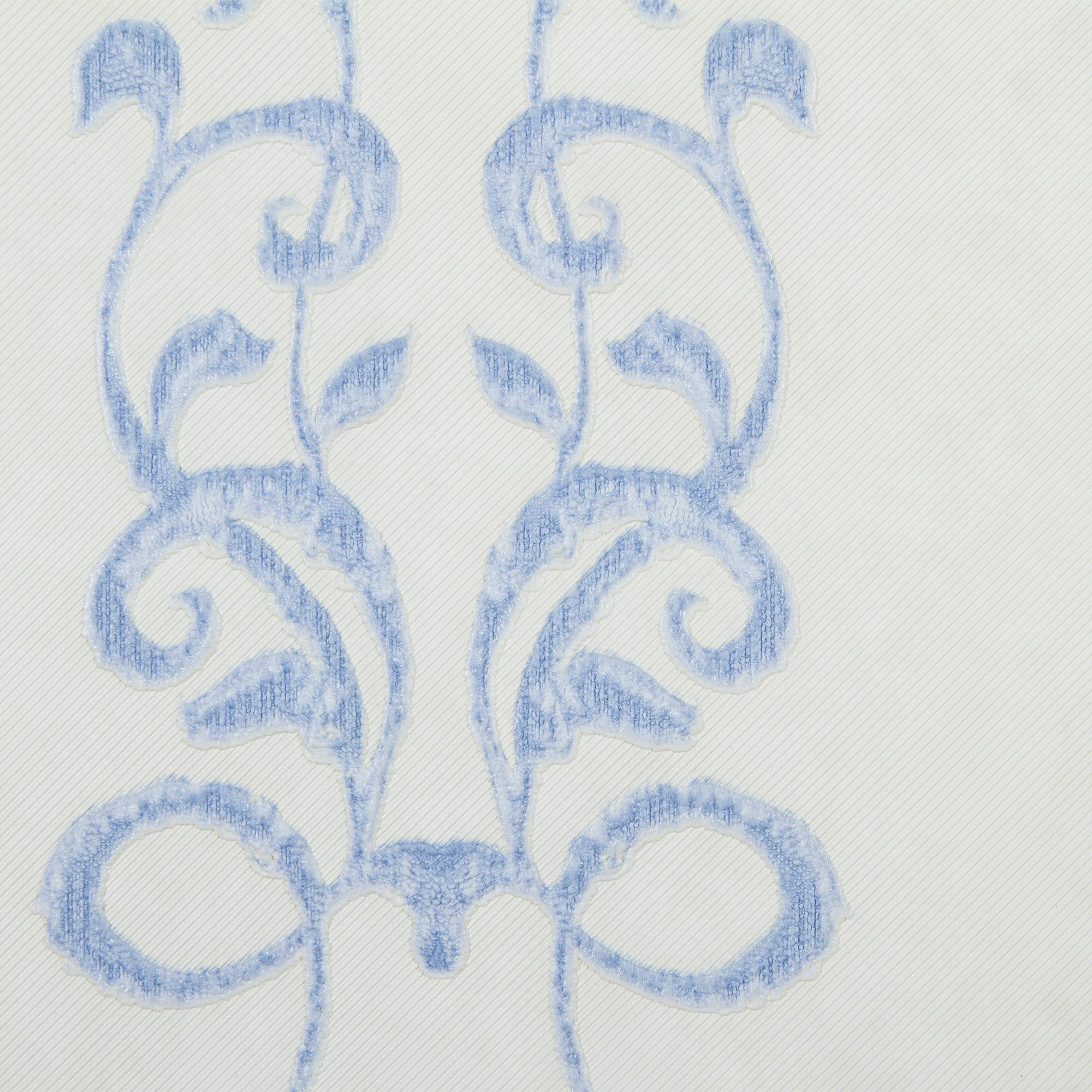 Обои флизелиновые 1.06х10 м полосы цвет голубой АС Пал 7062-16