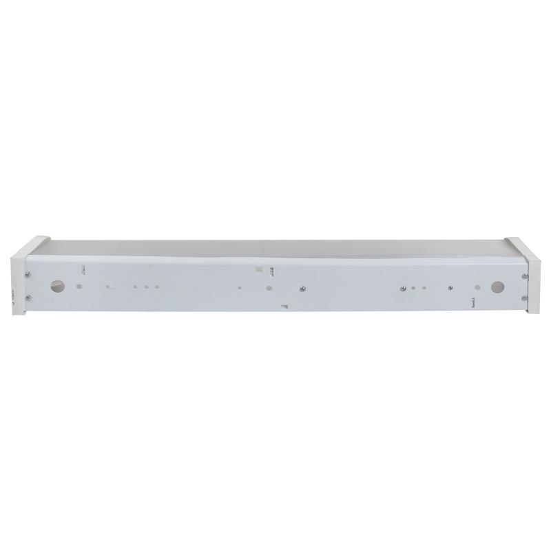 Светильник люминесцентный ЛПО12 1хТ8х20 Вт, IP20, металл/стекло, цвет белый