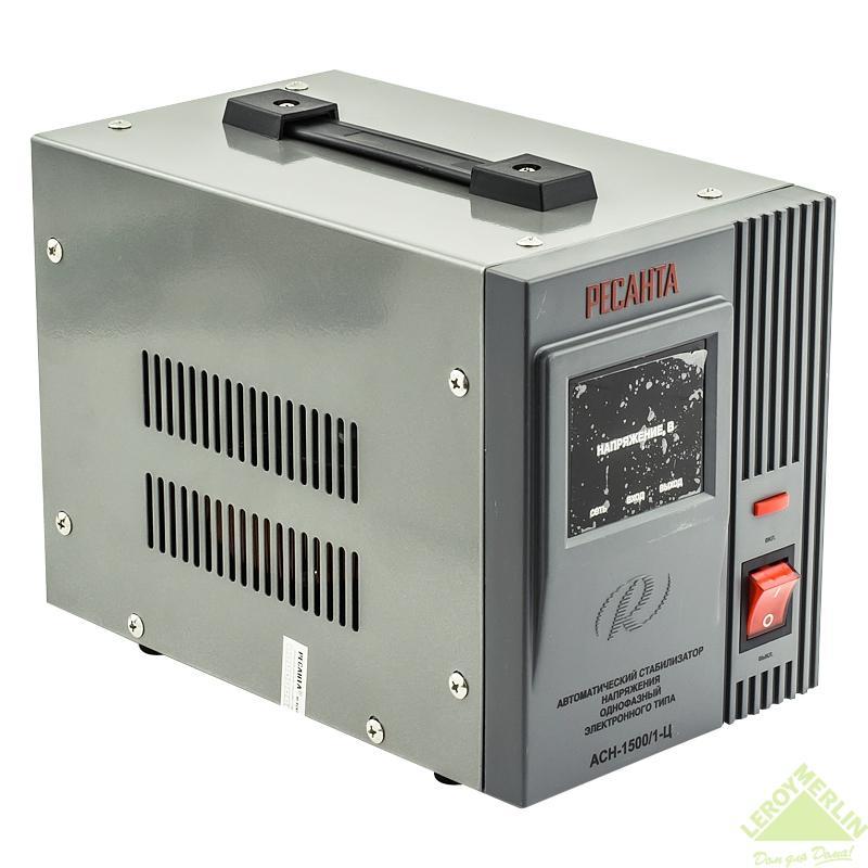 Стабилизатор напряжения Ресанта 1,5 кВт