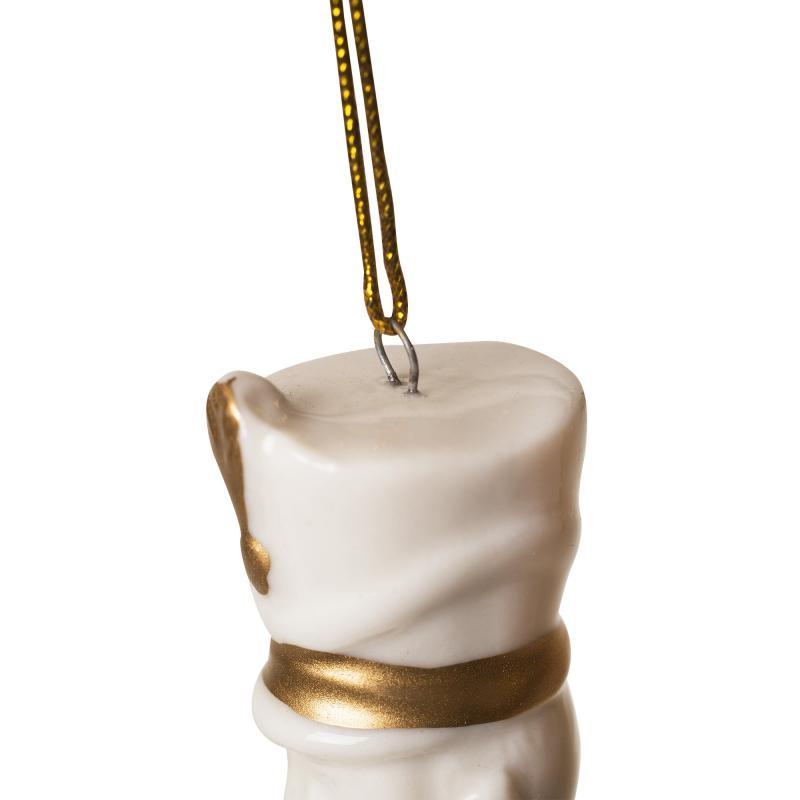 Украшение ёлочное «Солдат», 12 см, фарфор