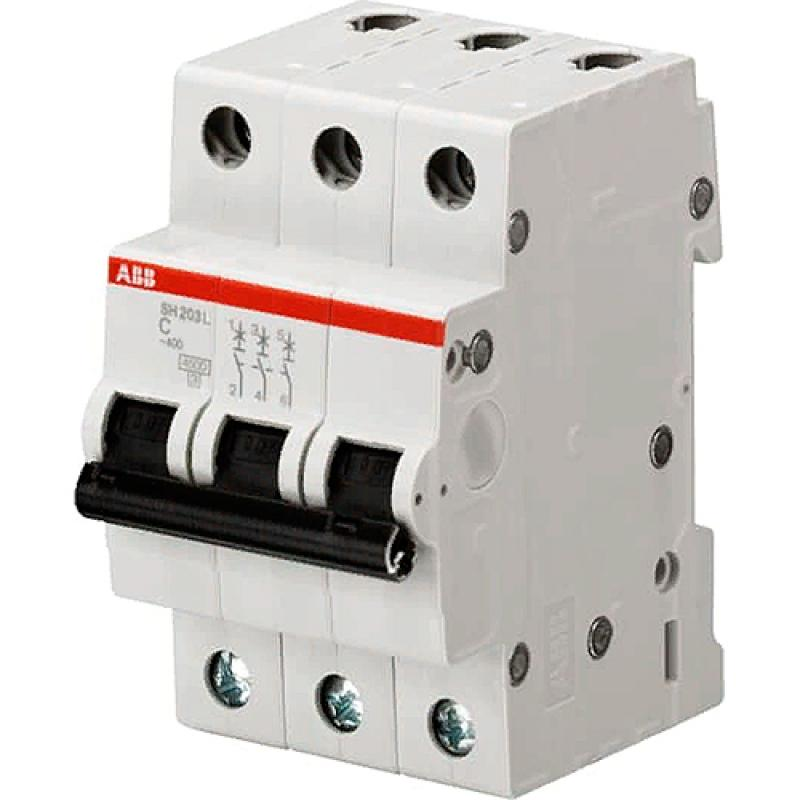 Выключатель автоматический ABB 3 полюса 6 А