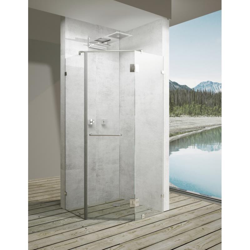Дверь душевая «Астра» пентагональная 100х100 см