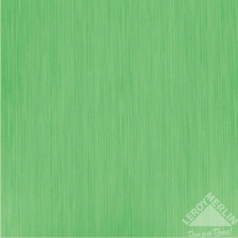 Плитка напольная Азалия зеленый, 32,7x32,7 см, 1,39 м2