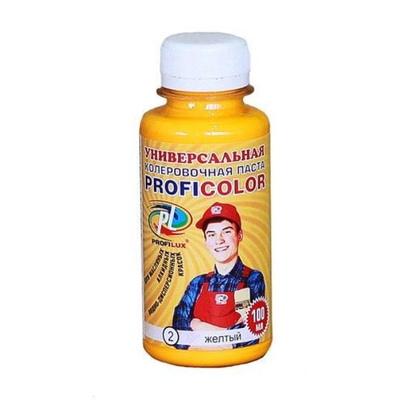 Колеровочная паста Profilux №6 100 гр цвет оранжевый