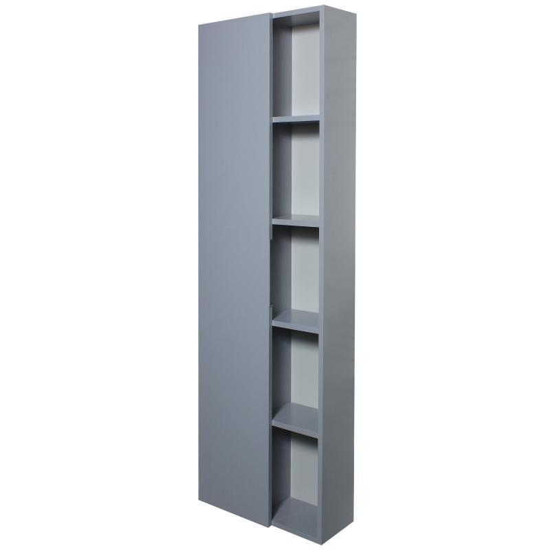 Шкаф «Либерти» 55 см цвет серый глянец