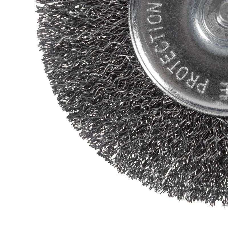 Щетка для дрели дисковая Dexter 100 мм металлическая