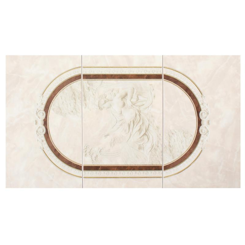 Панно настенное «Pietra» 69x40 см цвет коричневый