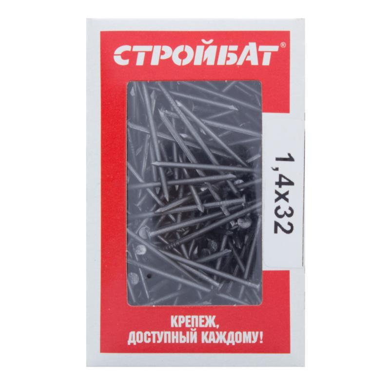 Гвозди строительные 1.4х32 мм, 0.2 кг