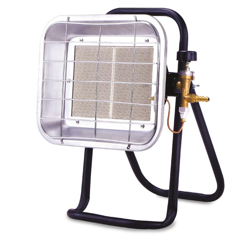 Нагреватель газовый инфракрасный UK-05 с тремя режимами, 4.2 кВт