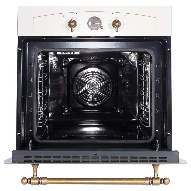 Духовой шкаф Hansa BOEW68120090, 59.5x59.5 см, 3100 Вт, цвет бежевый