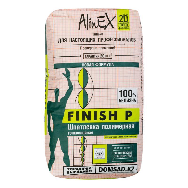 Шпаклёвка полимерная финишная Alinex Finish P 25 кг