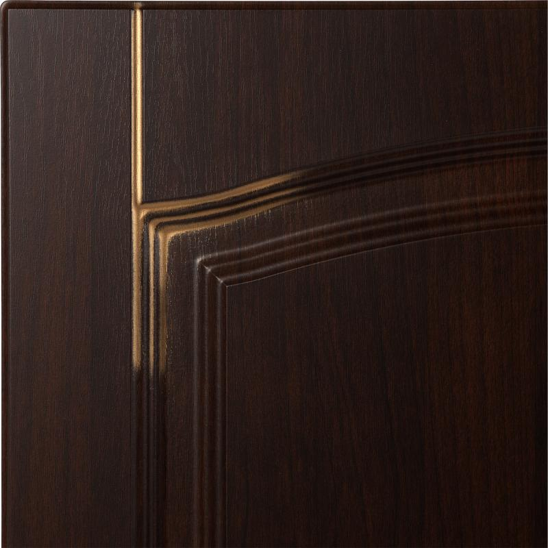 Дверь для кухонного шкафа «Византия», 60х70 см, цвет тёмно-коричневый