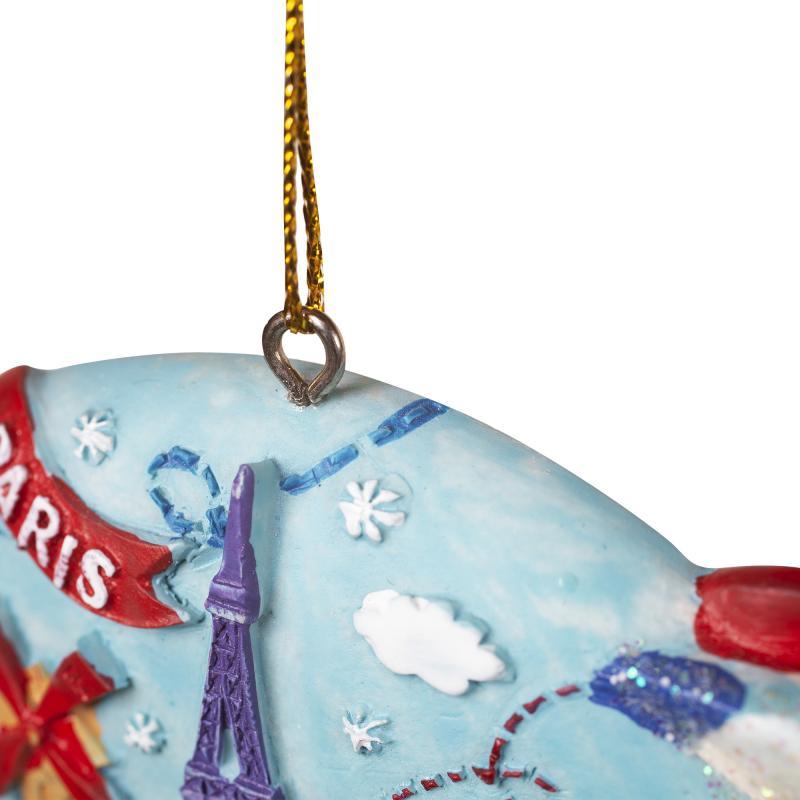 Украшение ёлочное «Дирижабль», 8 см