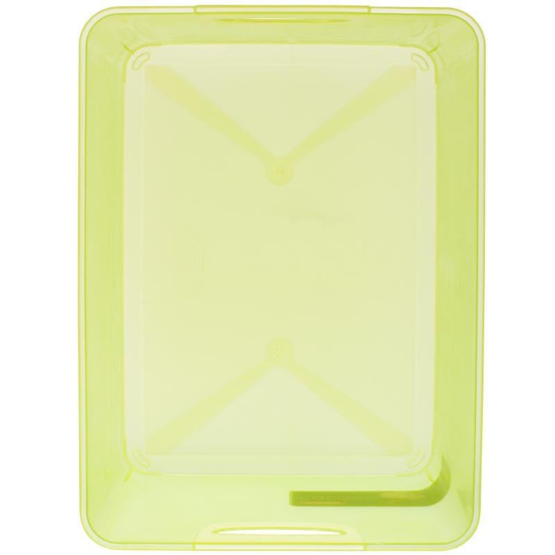 Коробка Curver Stockholm L пластик цвет зеленый