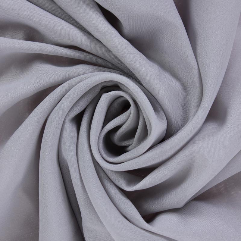 Ткань 1 п/м, вуаль, 285 см, цвет серый