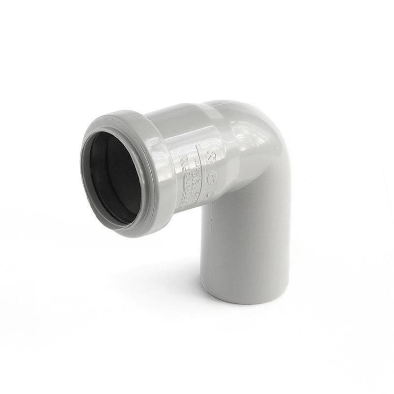 Колено Политрон, 87 градусов, 40 мм, полипропилен