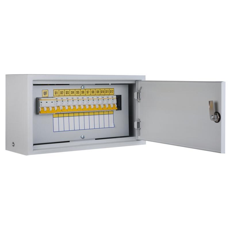 Щит металлический IEK ОЩВ-3-63-12-0 36 на 12 модулей