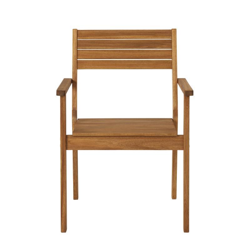 Кресло «Porto» штабелируемое, дерево (акация)