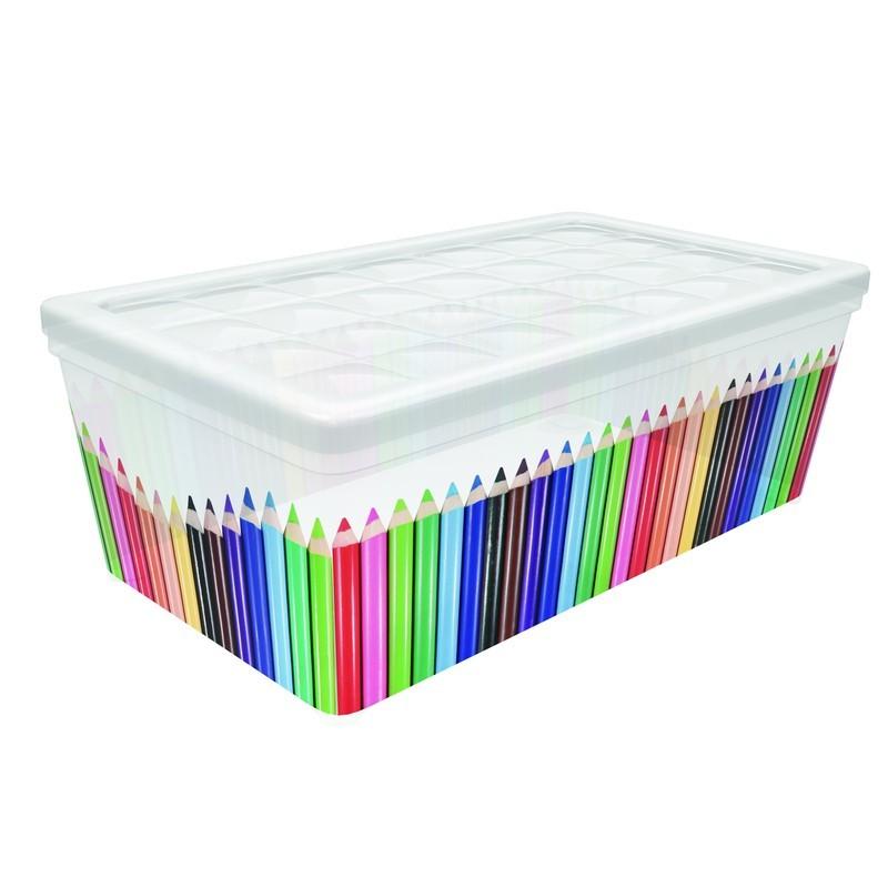 Контейнер Curver Textille карандаши, 5,7 л