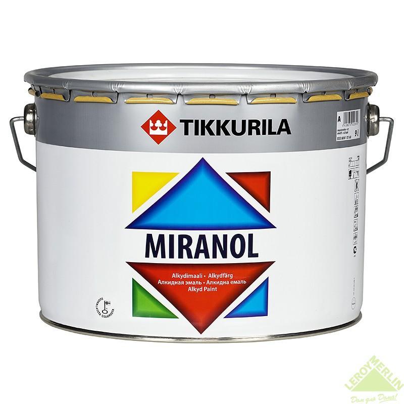 Эмаль тиксотропная Miranola 9 л