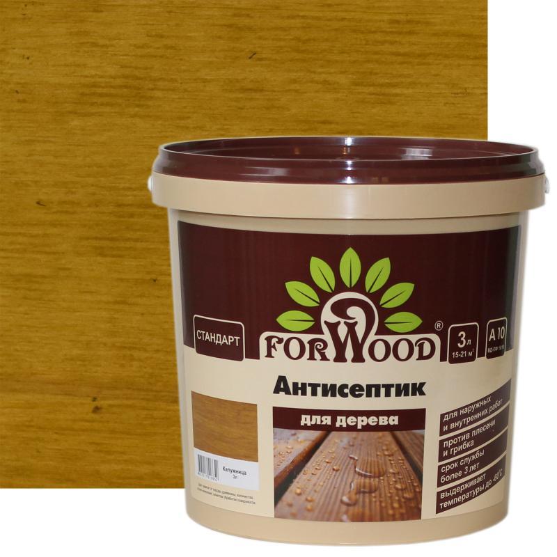 Антисептик Forwood цвет калужница 3 л