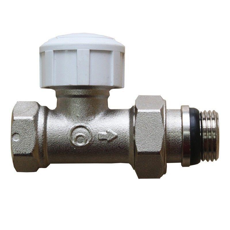 """Термостатический клапан для радиатора Heizen, прямой 1/2"""""""