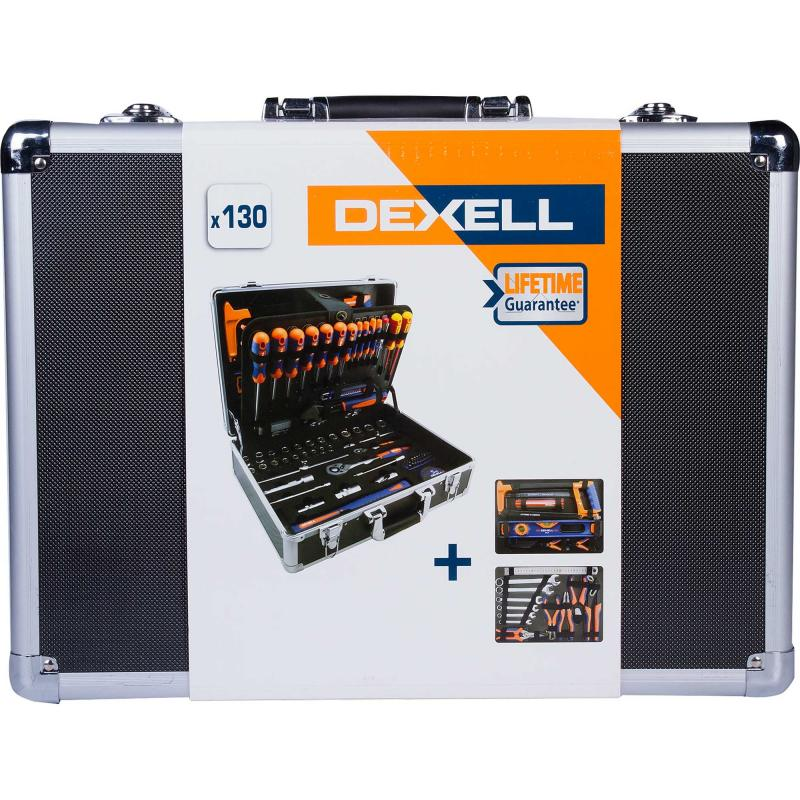 Набор инструмента Dexell, 130 предметов