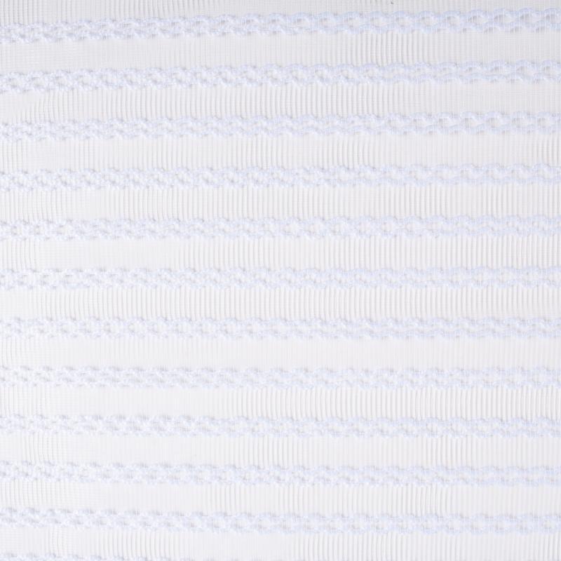 Тюль 1 п/м «Полосы», сетка, 285 см, цвет белый