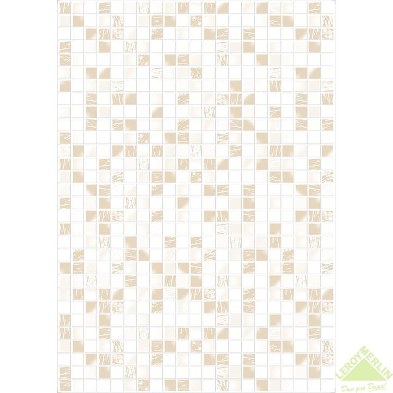 Плитка настенная Эстель, цвет светло-бежевый, 25х35 см, 1,40 м2