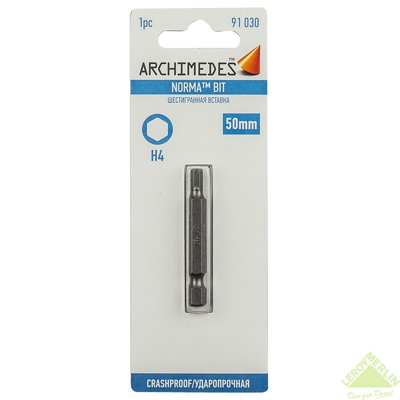 Бита под конфирмат H4x50 Archimedes