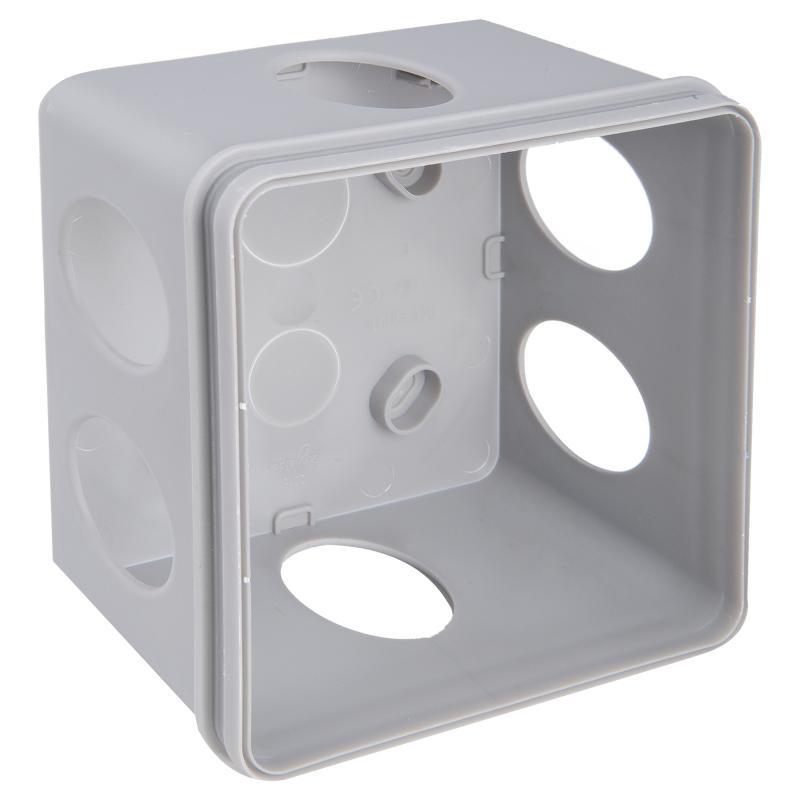 Коробка распределительная  Schneider Electric 100x100x50 мм цвет серый