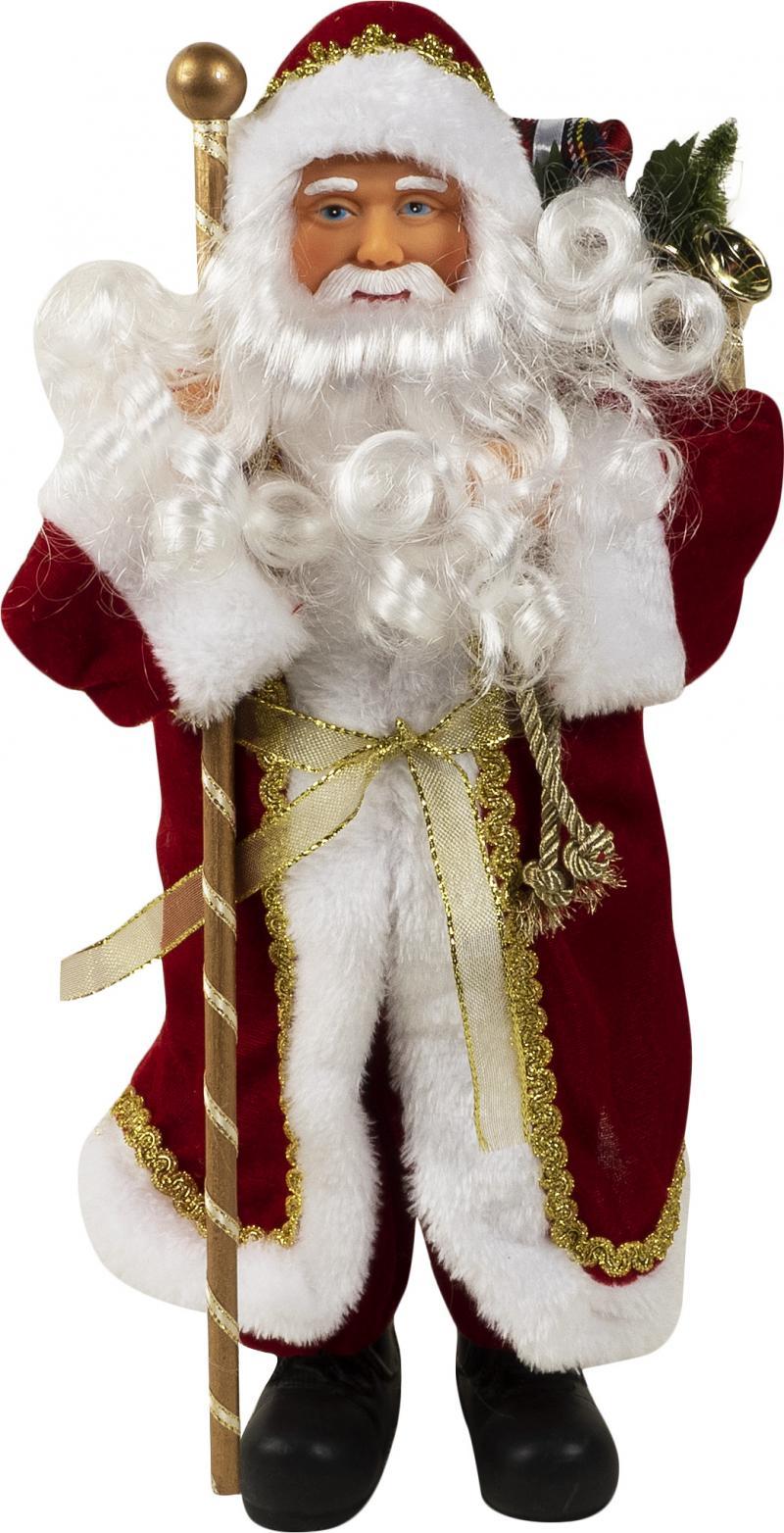 Фигурка «Дед Мороз», 41 см, цвет золотой